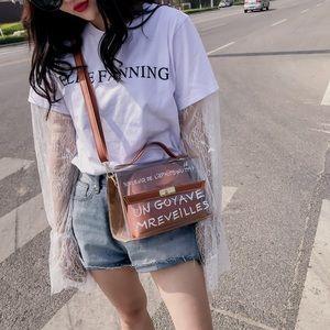 Handbags - cute brown crossbody bag